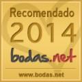 """Recomendado ORO 2014 en """"Bodas.net"""""""